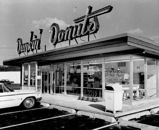 Photo Of The Week Dunkin Donuts In Salem 1965 Lost Oregon