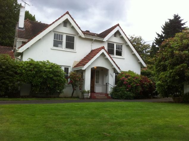 Streib's home, June 2011.