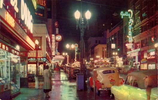 Portland in the 1950s