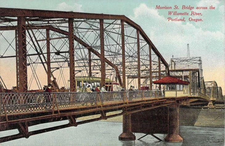 Morrison Bridge, Portland, Oregon