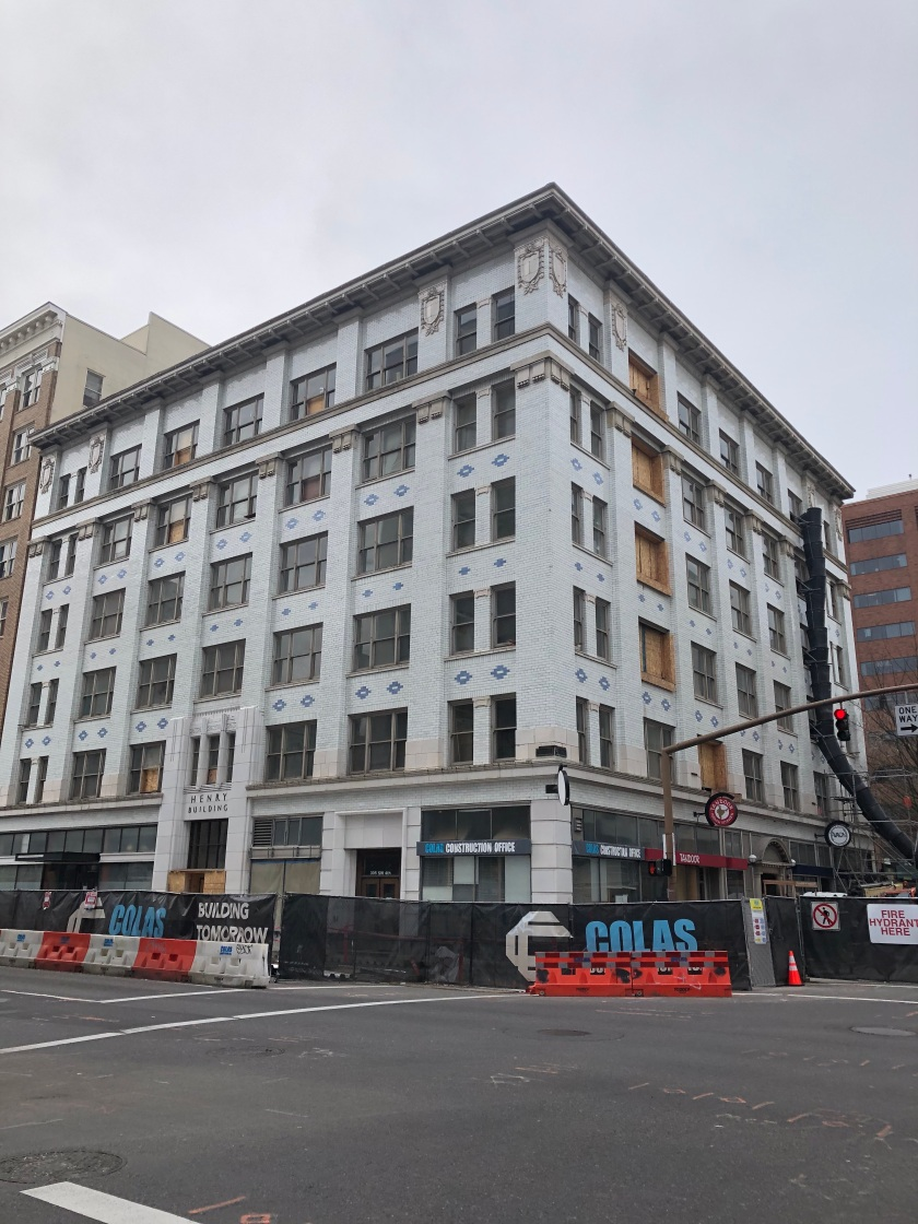 The Henry is getting an 'Occupied Seismic Remodel'
